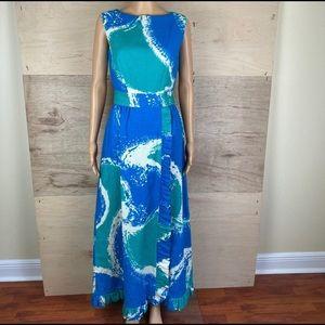 Vintage Malia Honolulu Hawaiian Dress